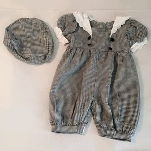 Cute 24 month Black & White outfit by Crayon